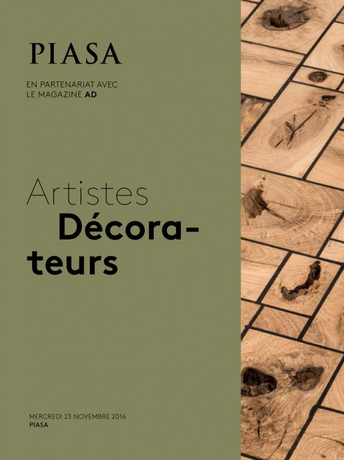 Piasa Ad Artistes Decorateurs