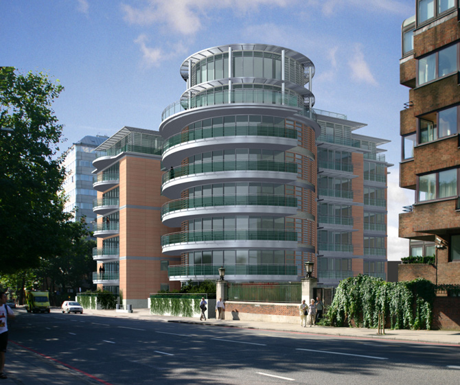 TWO IS COMPANY DESIGNS FOR ATRIUM RESIDENCES IN LONDON
